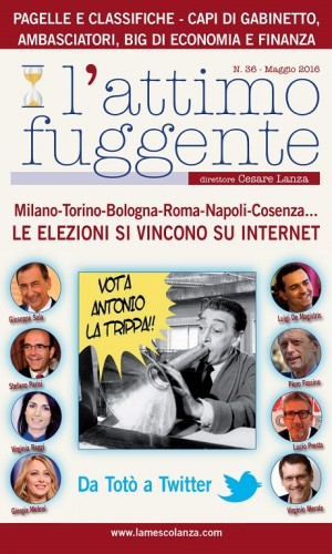 COPERTINA L'Attimo fuggente Maggio 2016